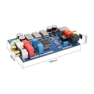 Image 4 - AIYIMA CM6631A dijital arabirim 32/24Bit 192K ses kartı DAC USB I2S/SPDIF koaksiyel çıkış ES9023 bağımsız çözme