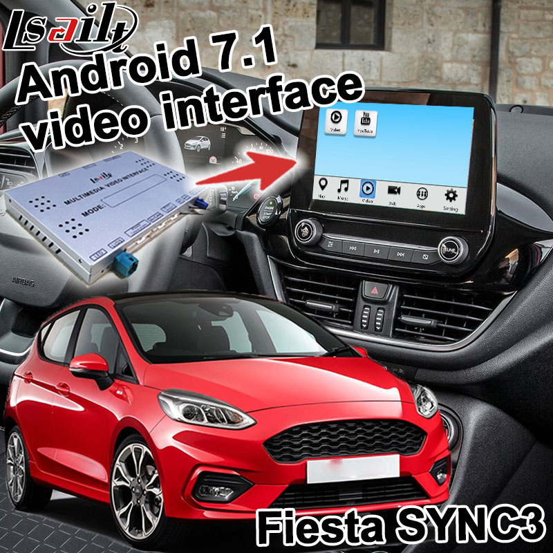 Android GPS navigation box for Ford Fiesta etc video