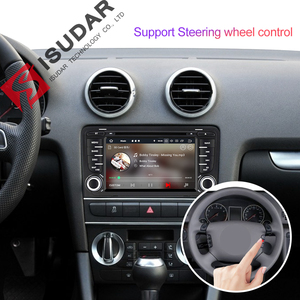 Image 4 - Isudar 2 Din Auto Radio Android 9 For Audi A3 8P/A3 8P1 3 door Hatchback/S3 8P/RS3 Sportback Car Multimedia Video Player GPS DVR