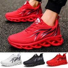 Baskets imprimées à la flamme pour hommes chaussures de sport à armure volante chaussures de course confortables chaussures de sport pour hommes en plein air
