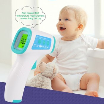 Non-contact LCD Display Digital IR Laser Infrared Thermometer Industry Temperature Gun with Data Holding Backlight Function цена 2017
