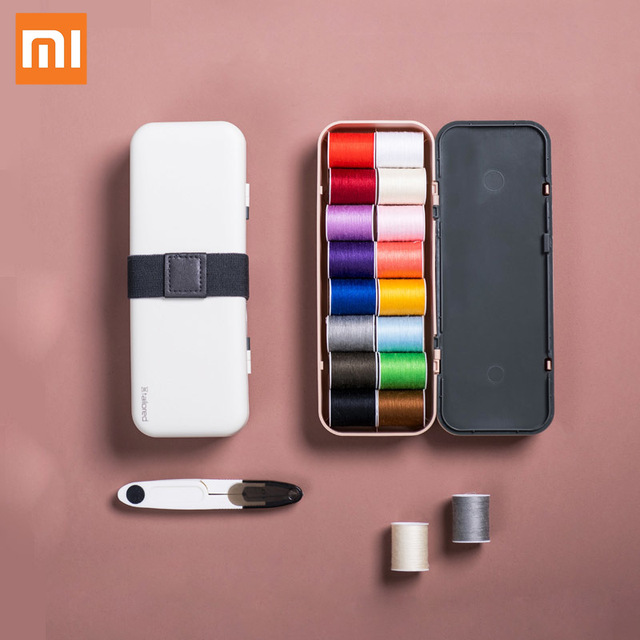 Xiaomi Jordan&Judy Household Sewing Box Set Portable Multifunctional Sewing Kit  for Hand Quilting Stitching Accessories