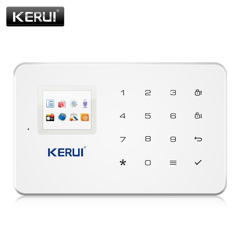 KERUI G183 3G Drahtlose Alarm System GSM WCDMA Home Security APP Control Mit Motion Detektor Tür Sensor Einbrecher Alarm system