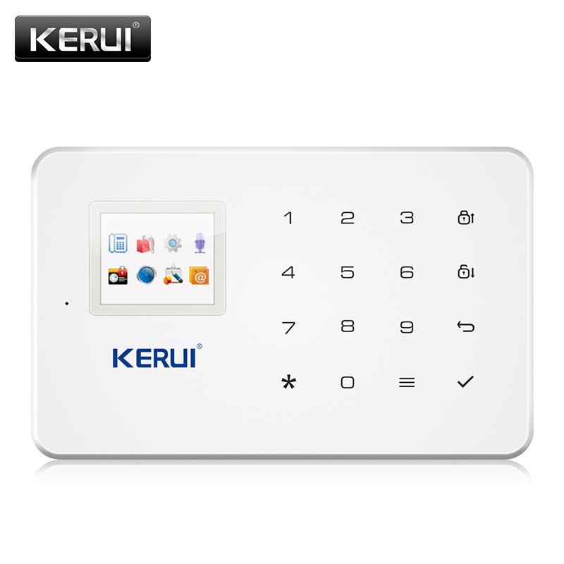 KERUI G183 3G Wireless Alarm System GSM WCDMA Home Security APP Control With Motion Detector Door Sensor Burglar Alarm System
