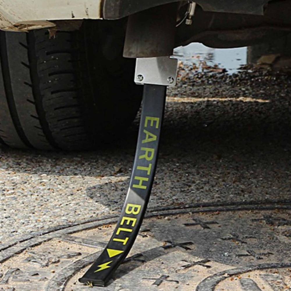 Car Anti Static Strap Electrostatic Earth Belt Canceller Reflective Avoid Antistatic Ground Wire Strap for Cars Trucks