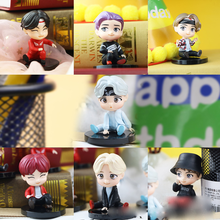 KPOP Star Group A.R.M.Y BT21 collezione di marionette giocattoli ultimi 7 pz/set Bangtan Boy gruppi Action Figures Toy Dolls regalo per ragazze