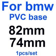 1PCS 82MM 74MM Adesivos de Carro Da Frente Capô Emblema Caps emblema Para E90 F10 F30 F15 E63 E64 E65 E86 E89 E85 E91 E92 Etiqueta Auto