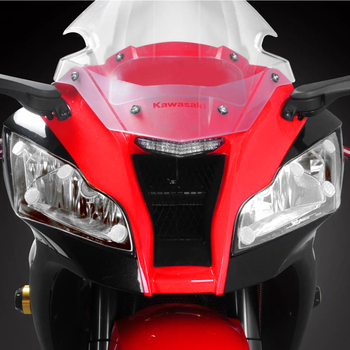 For Ninja ZX-10R ZX10R 11-15 2012 2013 2014 Motorcycle Headlight Protection Cover Acrylic lens