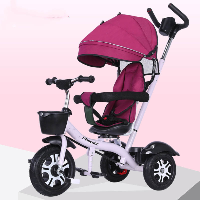 Children's Tricycle Baby Stroller 2-6 Years Old Baby Bicycle Bicycle