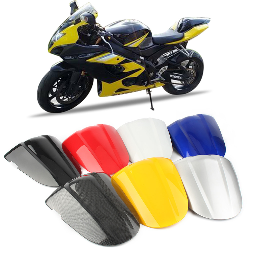 K5 Motorcycle Rear Passenger Seat Cowl Back Pillion Covers Protection Fairing For <font><b>Suzuki</b></font> GSXR1000 <font><b>GSX1000R</b></font> GSXR 1000 2005 2006 image
