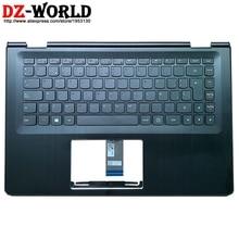 Новый/оригинальный Подставка для рук верхний корпус с испанской клавиатурой для ноутбука Lenovo Ideapad Yoga 500-14IBD ISK IHW Flex 3-1470 C чехол 5CB0J34008