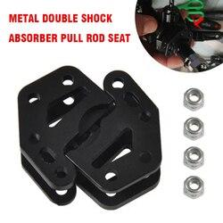 4 шт. металлические нижние амортизирующие крепления для Wraith 90053 90048 90018 90020 90031 90045 90056 1/10 аксессуары для радиоуправляемых автомобилей