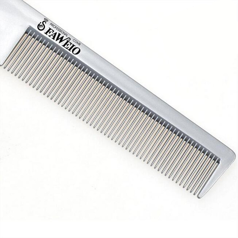 Image 2 - 1 Pc Professional Hair Brush Comb Razor Hair Razor Cutting Thinning Comb Trimmer Comb with Blade Combs Hair Styling Tool-in Combs from Beauty & Health