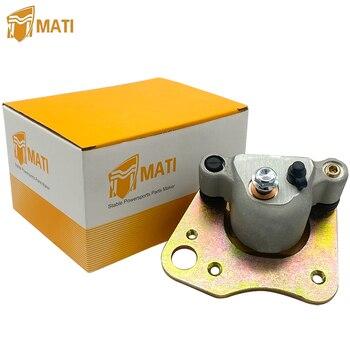 For ATV Polaris Ranger 400 500 700 800 TM Sportsman 570 X2 6X6 Front Left Brake Caliper Assembly with Pads Replacement 1911616 sr125 xv125 xv250 virago brake caliper assembly 4hm 2580t 00