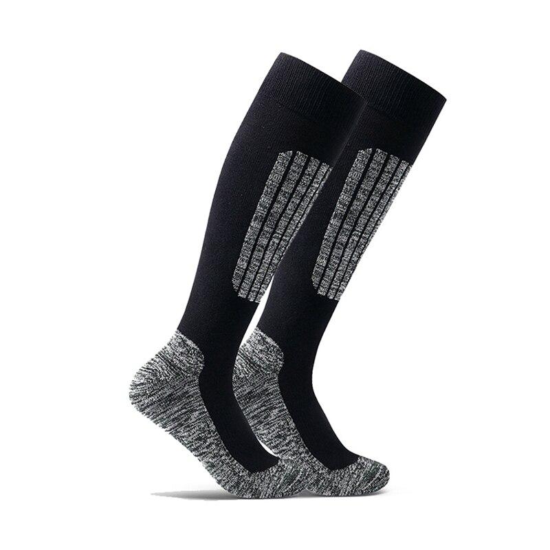 Women/Men Winter Ski Snow Sports Socks Thermal Long Ski Snow Walking Hiking Sports Towel Socks Free Size
