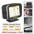 Obd2 Hud Auto Motor Code Reader Auf-board Computer Head Up Display 2 IN 1 Multi-funktion Diagnose volle OBDII Pk Autool X60