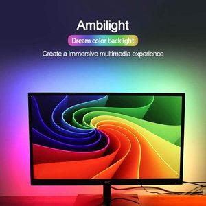 DIY Ambilight PC Dream Screen USB LED Strip HD Computer Monitor PC Screen Backlight Lighting LED Strip 1/2/3/4/5m