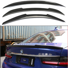 For BMW G20 Spoiler Carbon Fiber Material M Performance 2018 - UP 320i 320D NEW 3 Series G28 Rear Trunk Wings
