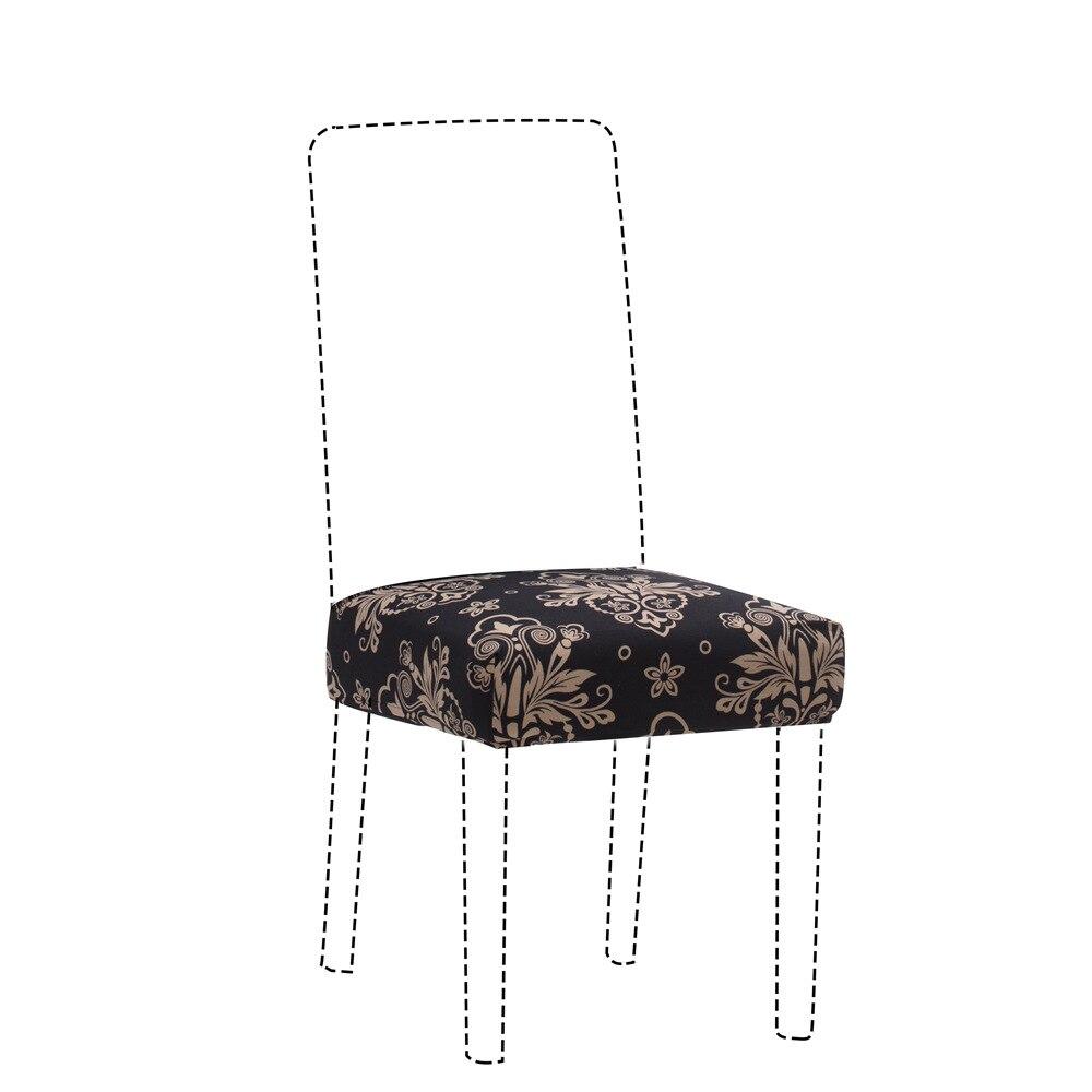 1/2/4/6 pçs impressão floral elástico cadeira capa decoração para casa decoração elastano cobrindo escritório banquete cadeira tampas removível