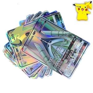 Image 4 - 100 300pcs Pokemon Cards GX EX MEGA Shining Cards Game Battle Carte TAKARA TOMY Trading Cards Game Children Toy