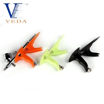 Air Brush Grip Holder Plastic Airbrush Gun with Easy Handle Model Comfortable Use Tools Ergonomic Hand
