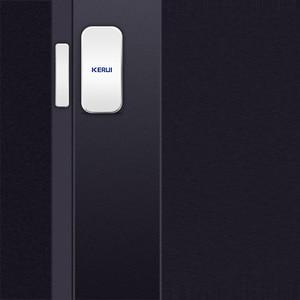 Image 4 - KERUI אינטליגנטי אלחוטי דלת פער חדש לבן 433 Mhz קשר אלחוטי דלת חלון מגנט כניסת גלאי חיישן חלון חיישנים