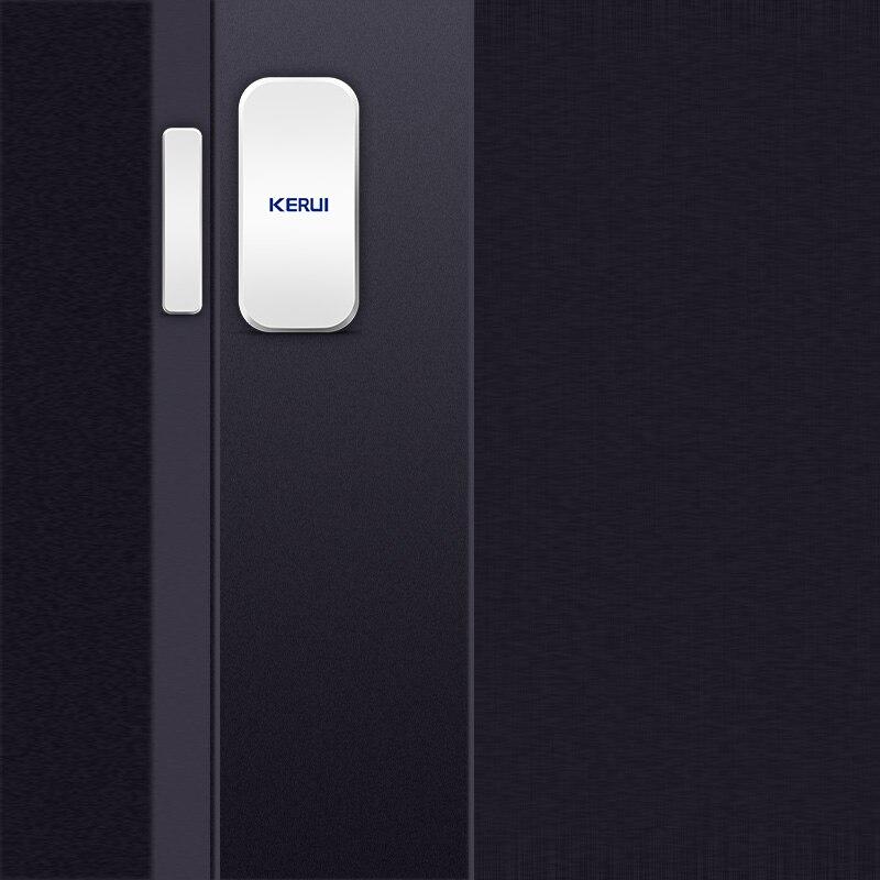 Image 4 - KERUI Intelligent Wireless Door Gap New White 433 Mhz Contact Wireless Door Window Magnet Entry Detector Sensor Window Sensorssensor windowsensor sensorsensor detector -