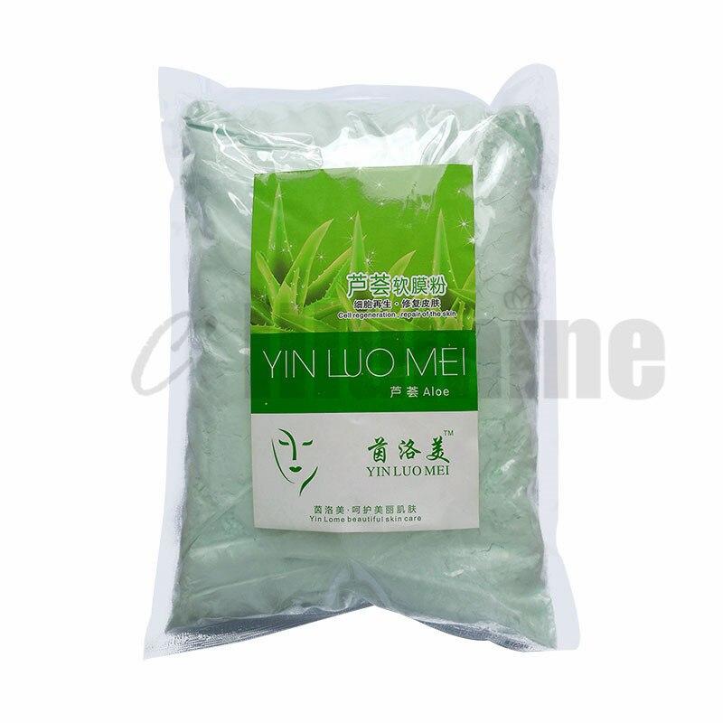 Aloe Vera การสร้างแบบจำลอง Peel Off มาสก์ฟิล์มนุ่ม Powder Moisturizing Relaxing Rehabilitating สิว ฟรีพิมพ์ร้านเสริมสวย 800g-ใน การบำรุงรักษาและหน้ากาก จาก ความงามและสุขภาพ บน   2