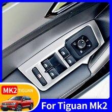 Volkswagen Vw Tiguan Mk2 rline 2016-17-18-19-20 akcesoria samochodowe autor dekoracja wnętrz szyba okienna podnośnik panel patch