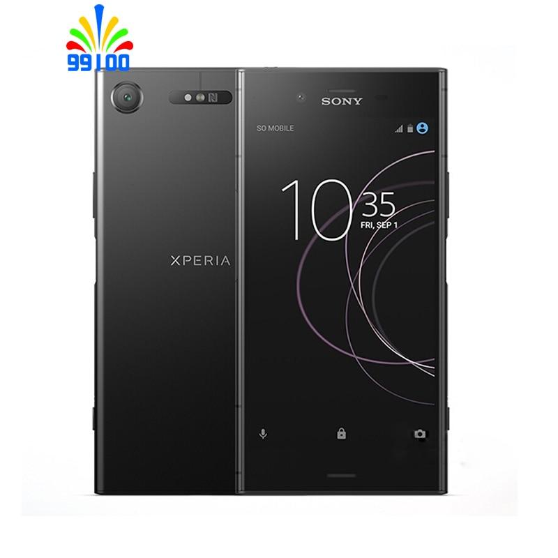 Original Unlocked Sony Xperia XZ1 G8341 5.2'' 4GB+64GB Qualcomm 835 fingerprint 4G-LTE refurbished Japan version cellphone(China)