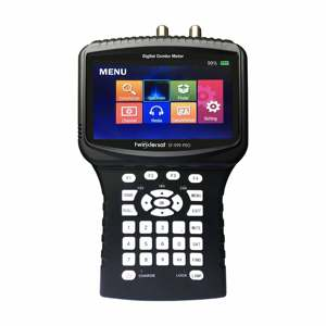 "Image 3 - Digital Satellite & Terrestrial & Cable HD Combo Signal Meter SF 999 PRO 4.3"" Screen Spectrum Analyzer Youtube WiFi Powervu CS"
