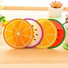 Современная мода фруктовый подстаканник силиконовый подстаканник для напитков коврик для посуды настольные коврики обеденные подстаканники кухонные аксессуары