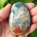 Натуральный камень морская яшма пальмовые целебные кристаллы декоративная коллекция камней и кристаллов