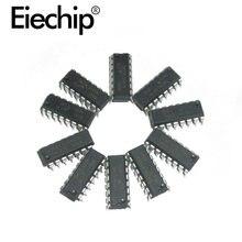 Circuito integrado de circuitos integrados de lógica surtido kit de 74HC00 74LS00 CD4069 paquete DIP registro chip controlador componente electrónico chip IC