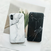 Matte Marble TPU Case For iPhone XR XS Max caseScrub silicon case For iPhone 11 Pro Max Xr X 8 7 6S plus Back Cover Coque shell rugged tpu case for iphone 11 pro max case iphone x xs xr 6 6s plus 7 plus 8 plus iphone11 11pro cloth back cover elk deer shell