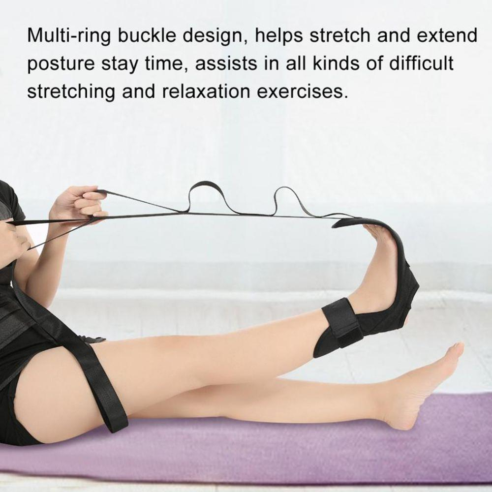 New Yoga Lacing Belt Fitness Stretch Belt Auxiliary Ankle Ligament Stretcher Anti Gravity Aerial Hammock Accessories