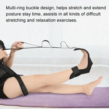 New Yoga Lacing Belt Fitness Stretch Belt Auxiliary Ankle Ligament Stretcher Anti Gravity Aerial Hammock