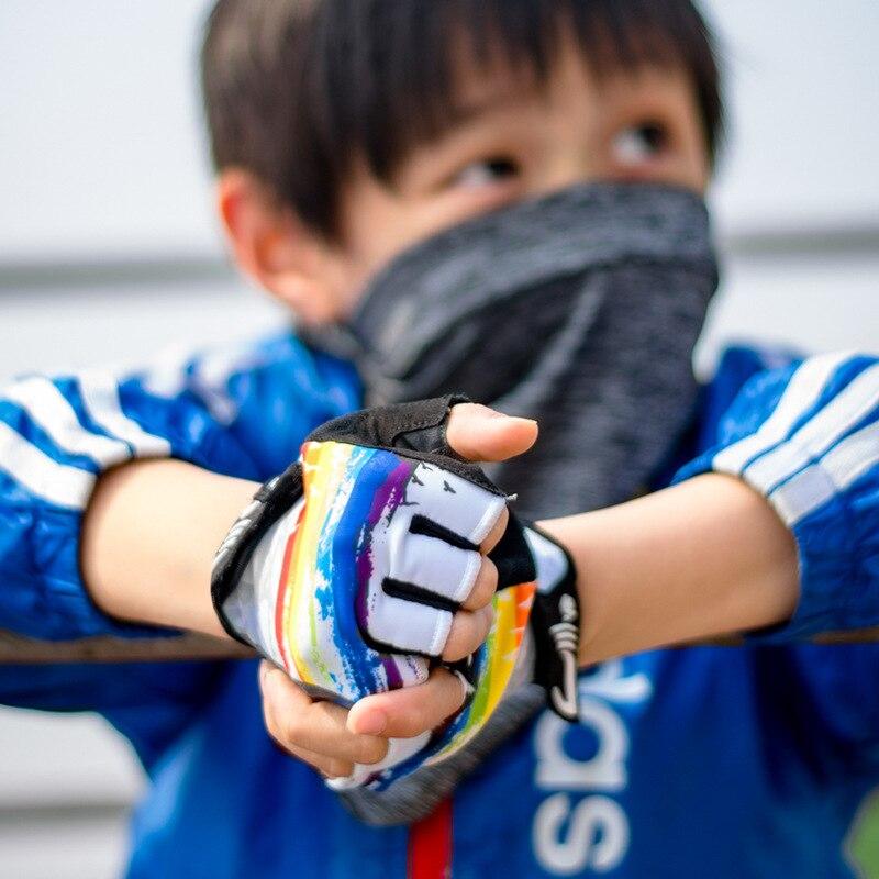 CoolChange летние дышащие детские велосипедные перчатки с полупальцами BMX велосипедные перчатки MTB горный велосипед перчатки для мальчиков и де...