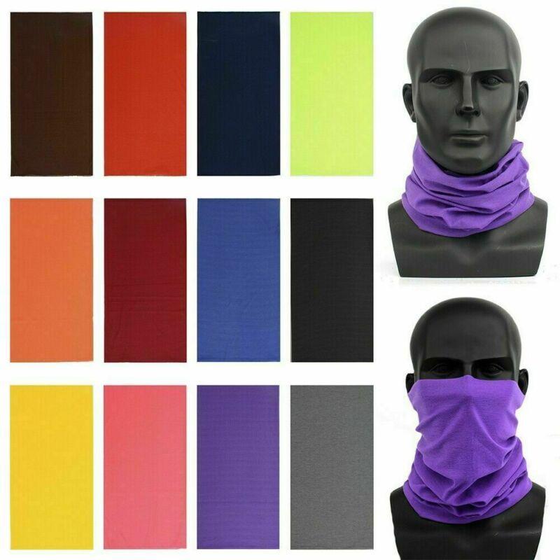Women Men's Turban Magic Scarf Outdoor Sports Bicycle Riding Headband Bike Cycling Balaclava Neck Tube Warmer Bandanas Face Mask