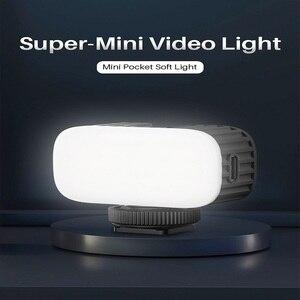 Ulanzi VL30 5600K Mini Led Video Light With Cold Shoe Soft Fill Light Portable Vlog Light 340 LUX 2W 750mAh Type-C Charging