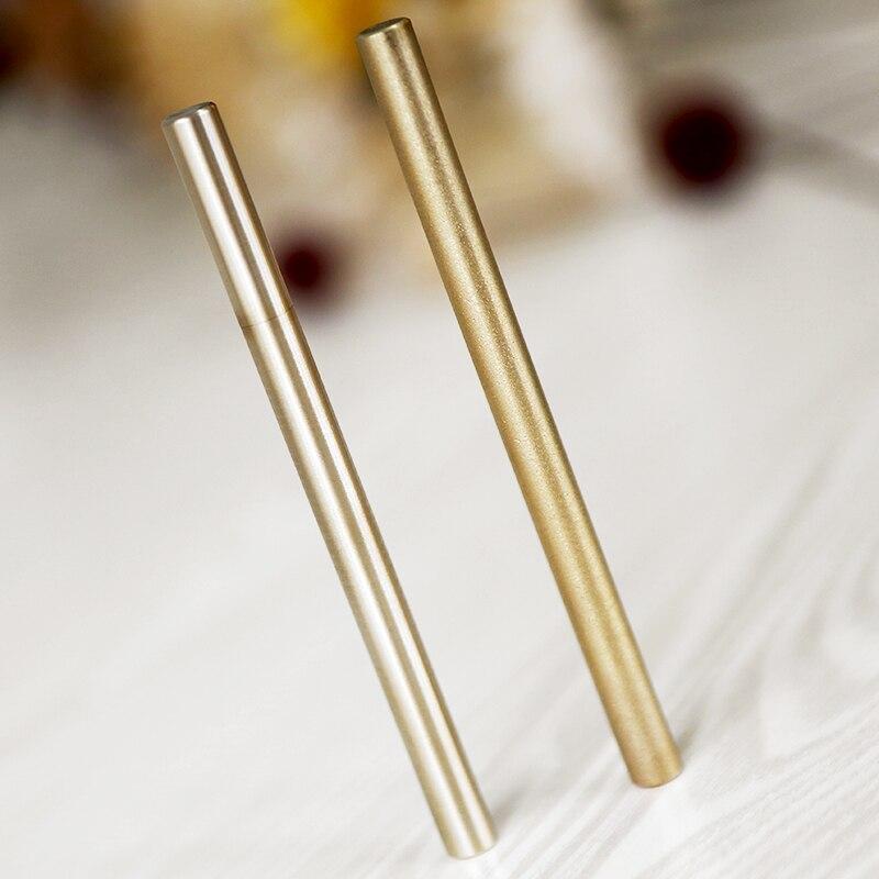 Латунная ручка в стиле ретро ручка из чистой латуни металлическая ручка тактическая ручка медная подарочная ручка стилус личный набор для ...