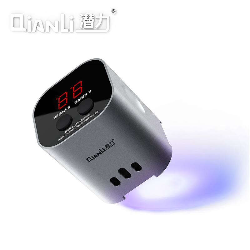 Qianli Intelligent UV Curing Lamp LED 3S Fast Adhesive Green Oil Purple Light Phone Motherboard Repair Lamp iUV