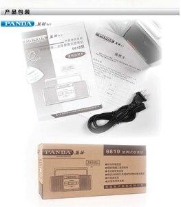 Image 5 - Панда 6610 лента Регистраторы радио маленький двойная Динамик лента английский плеер двухполосный радио