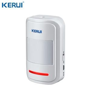 Image 4 - KERUI W20 WIFI GSM inteligentny system alarmowy do domu wykrywacz ruchu 433MHz bezprzewodowy karta rfid pilot aplikacji sterowania alarm antywłamaniowy
