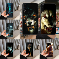 Animal Wolf Phone Case For For SamSung Galaxy A M 5 8 10 20 30 31 40 50 51 70 71 80 S E Black black Cover Luxury Coque Pretty