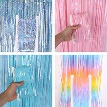 Gland guirlande bricolage papier coloré gland guirlande licorne fête d'anniversaire décor bébé douche faveurs fournitures fête fond décor