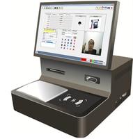 Visitors Face recognition Fingerprint passport Identity Card Scanner Guard room Visitor facial Registration system device