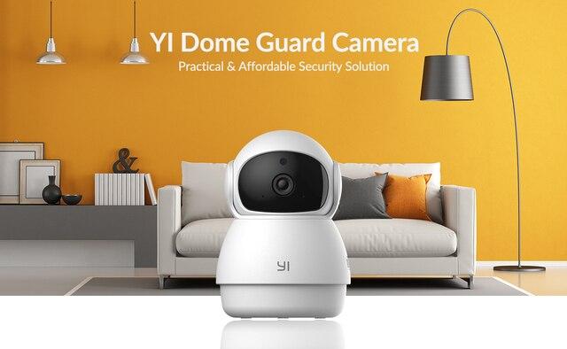 YI Dome Guard Camera 1080p Wifi Camera Human Pet AI Webcam Ip Camera Security Home Indoor Cam Pan & Tilt 360 video recorder cam 7