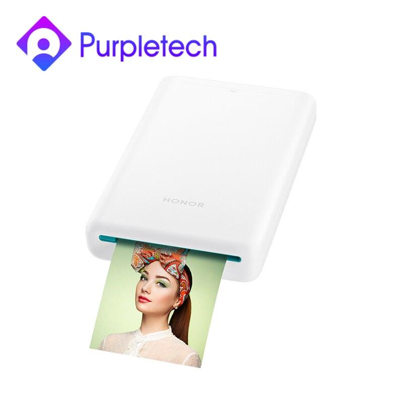Original Huawei Honor Pocket Photo Printer HUAWEI Zink Portable Photo Printer AR Printer 300dpi Bluetooth 4.1 Support DIY 500mAh