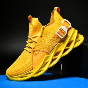 Image 2 - חדש רשת גברים סניקרס נעליים יומיומיות Lac למעלה גברים קלת משקל נוח לנשימה הליכה Sneaker Zapatillas Hombre ריצה